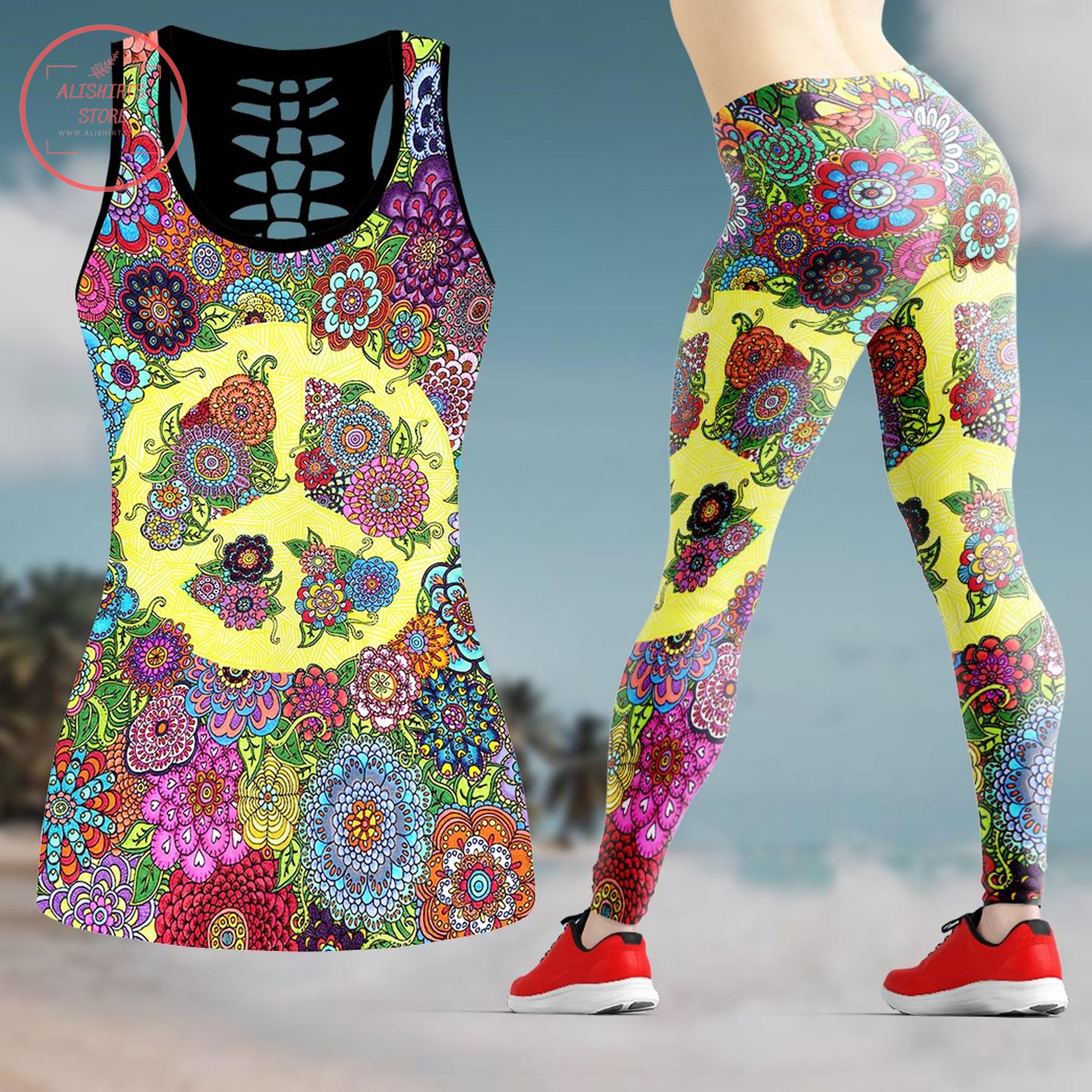 Hippie leggings & tanktop