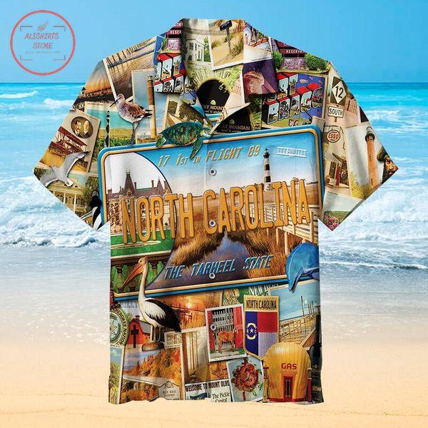 Welcome to North Carolina Hawaiian shirts