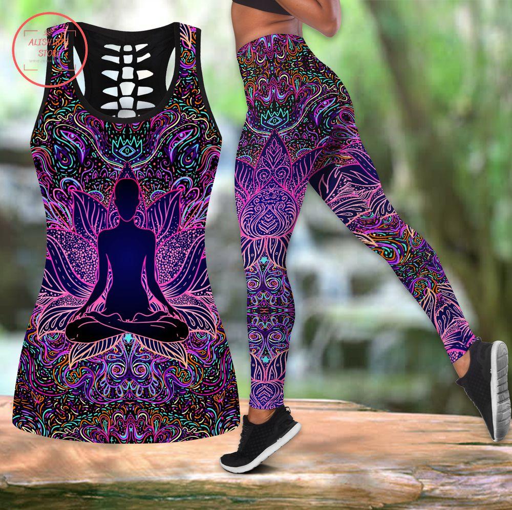 Zen Mandala Leggings & Tanktop