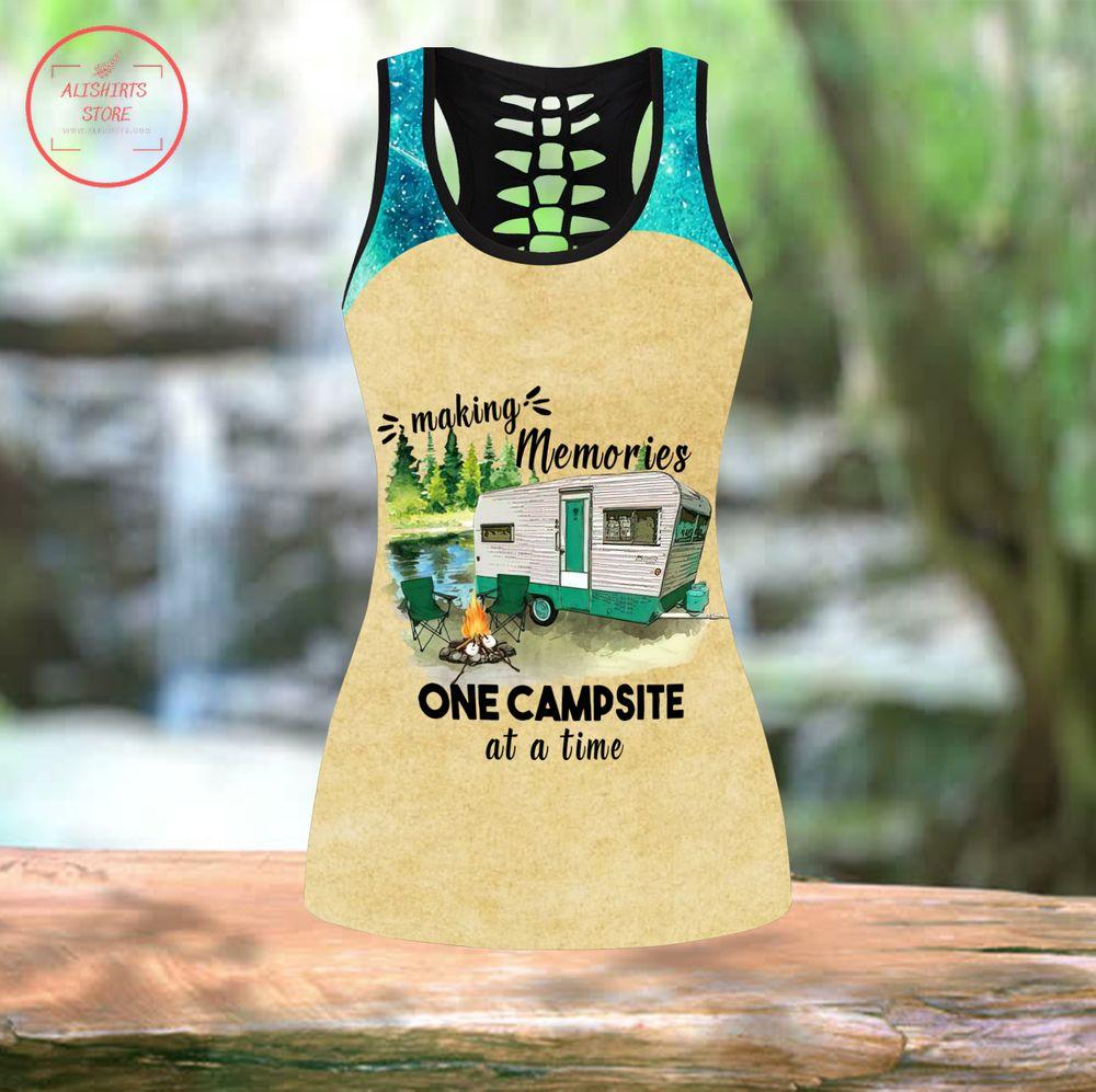 Customized Camping Leggings & Tanktop