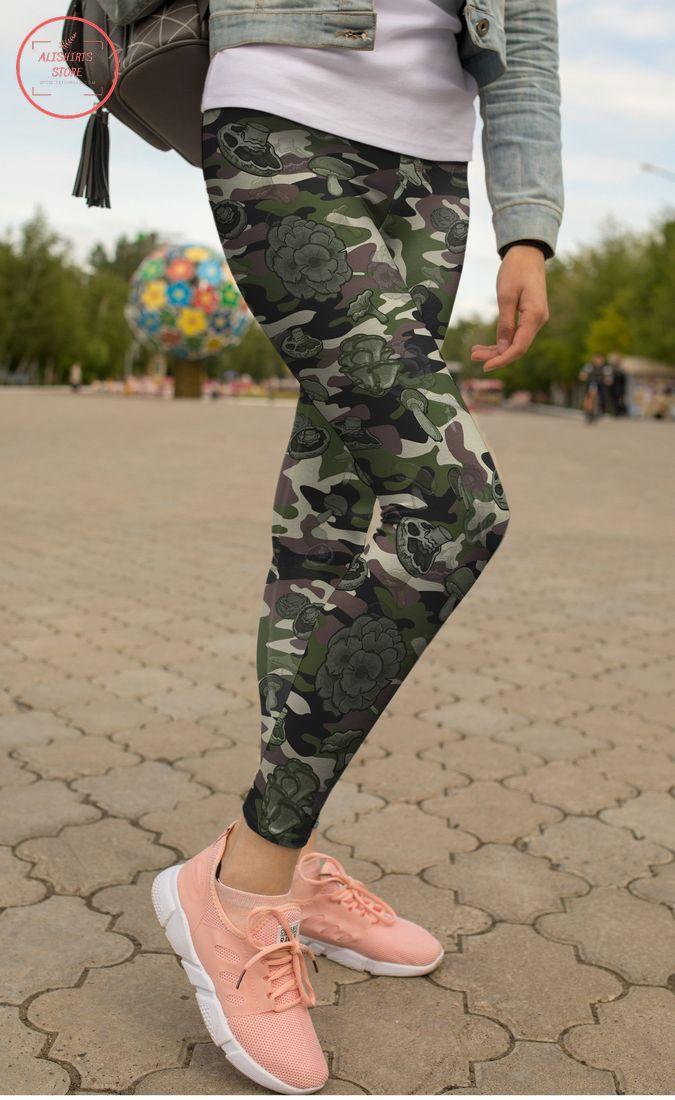 Camo Mushroom Leggings