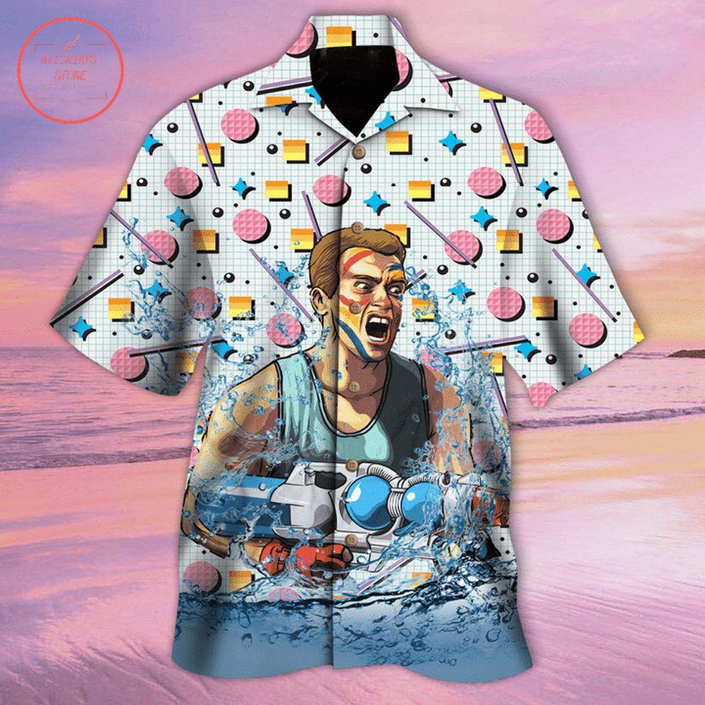 Arnold Schwarzenegger Hawaiian shirt