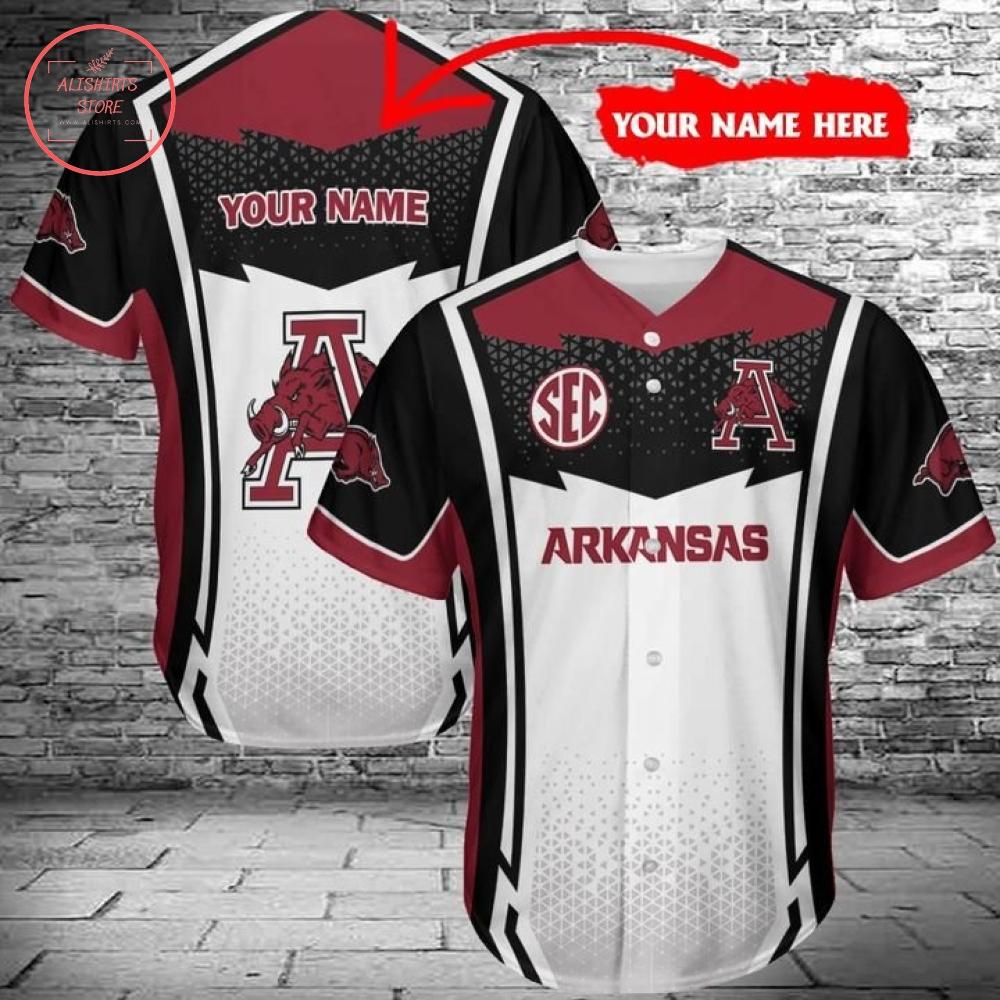 Arkansas Razorback Baseball Shirts