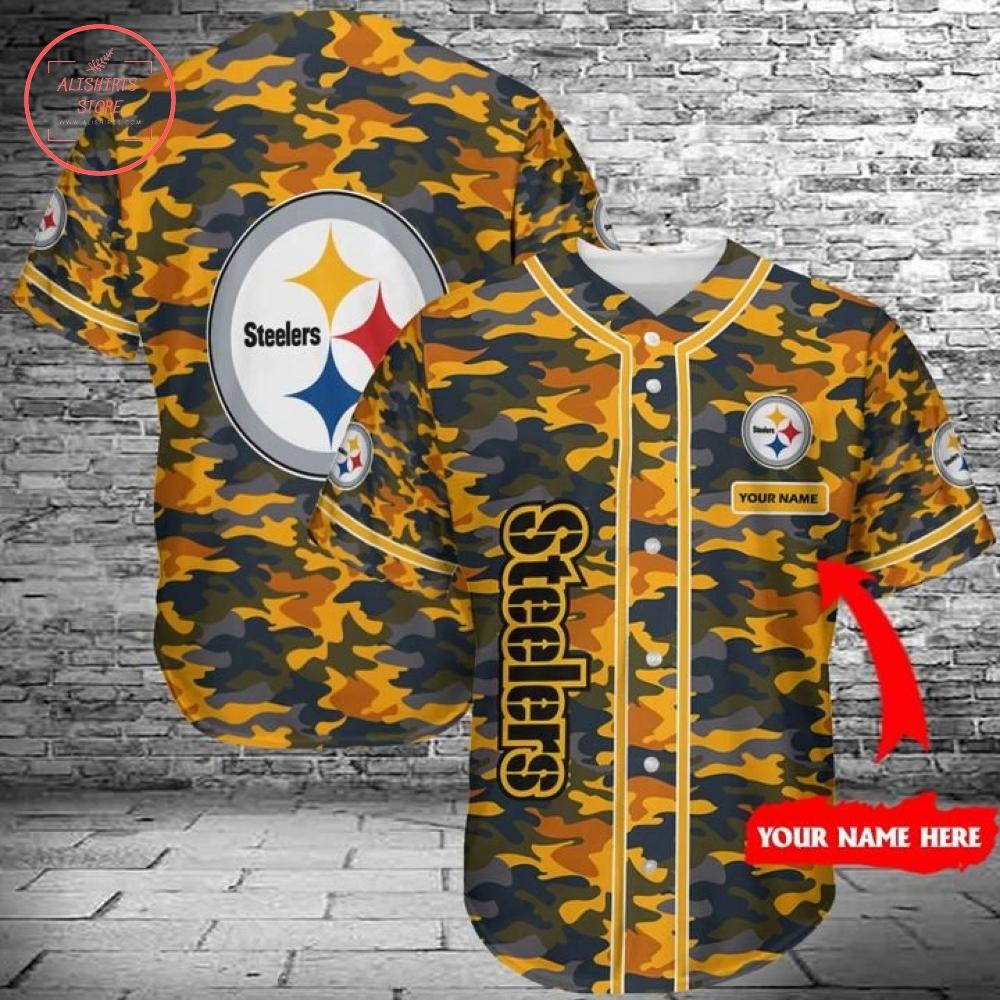 Steelers Baseball Jersey