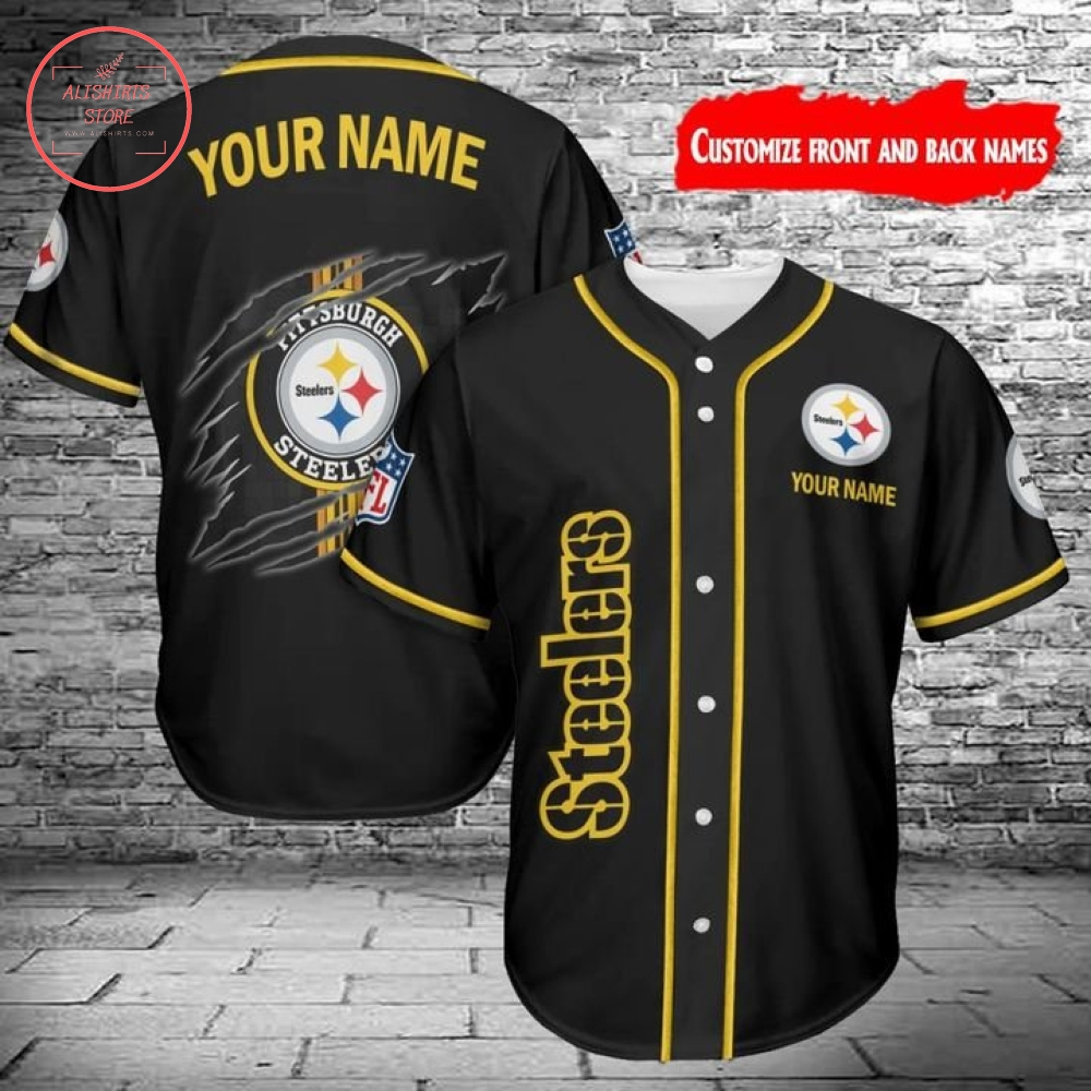 Pittsburgh Steelers baseball jersey