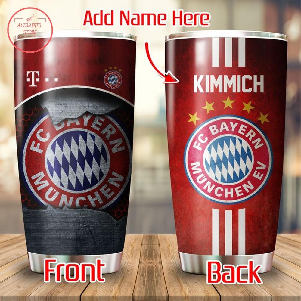 Bayern Munich Personalized Tumbler