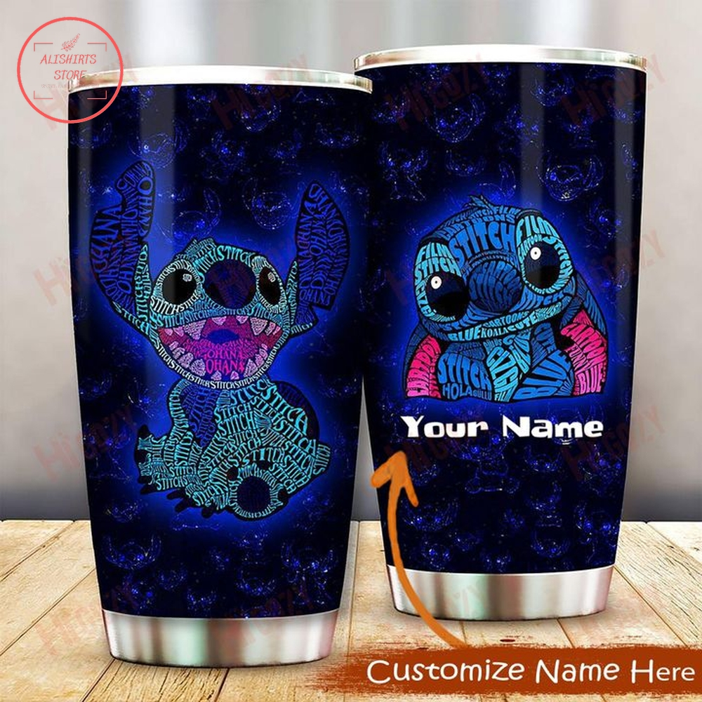 Personalized Disney Stitch Tumbler