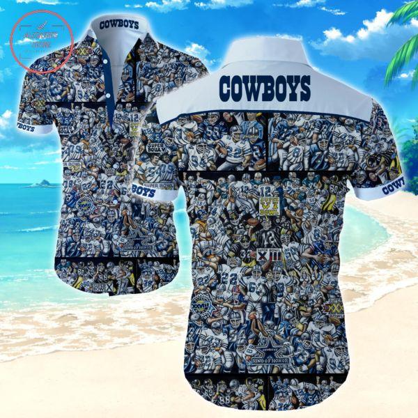 Dallas Cowboys Super Bowl XIII Hawaiian shirts