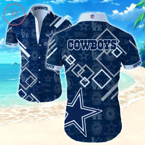 Love Dallas Cowboys Hawaiian shirts