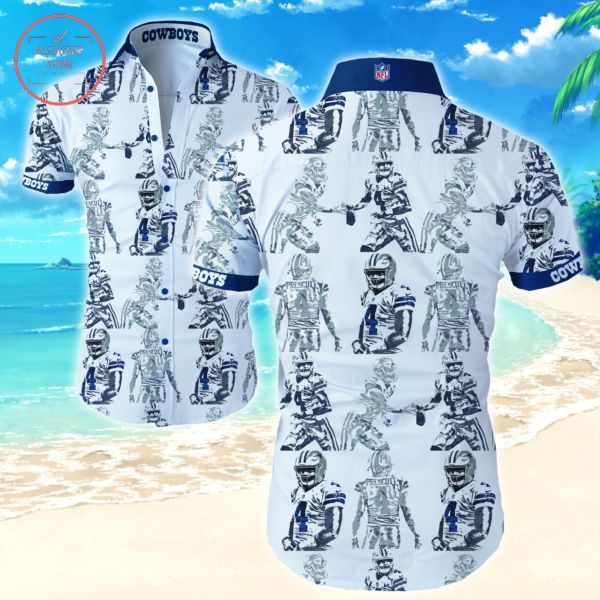 Dallas Cowboy players Hawaiian shirts