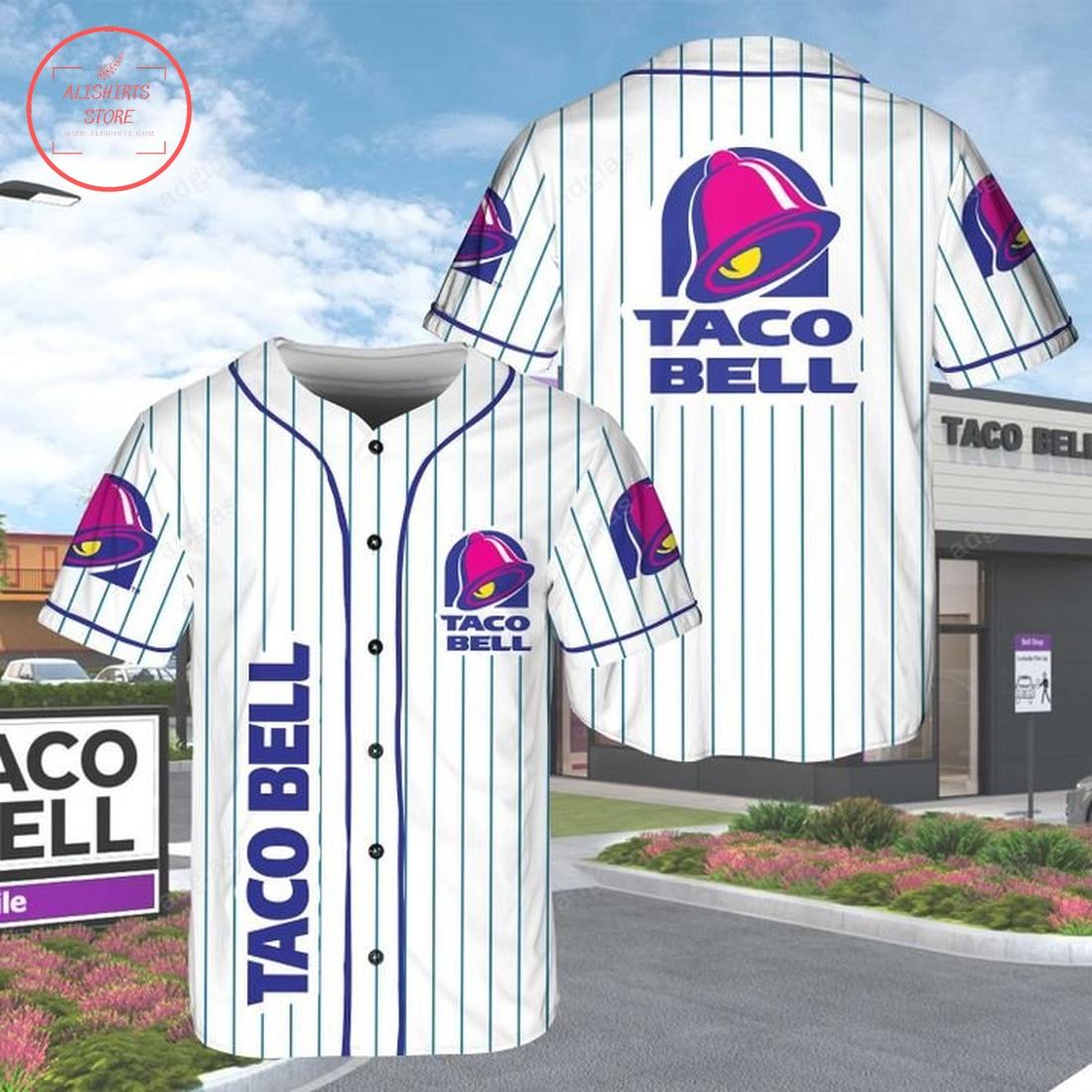Taco Bell baseball Jersey