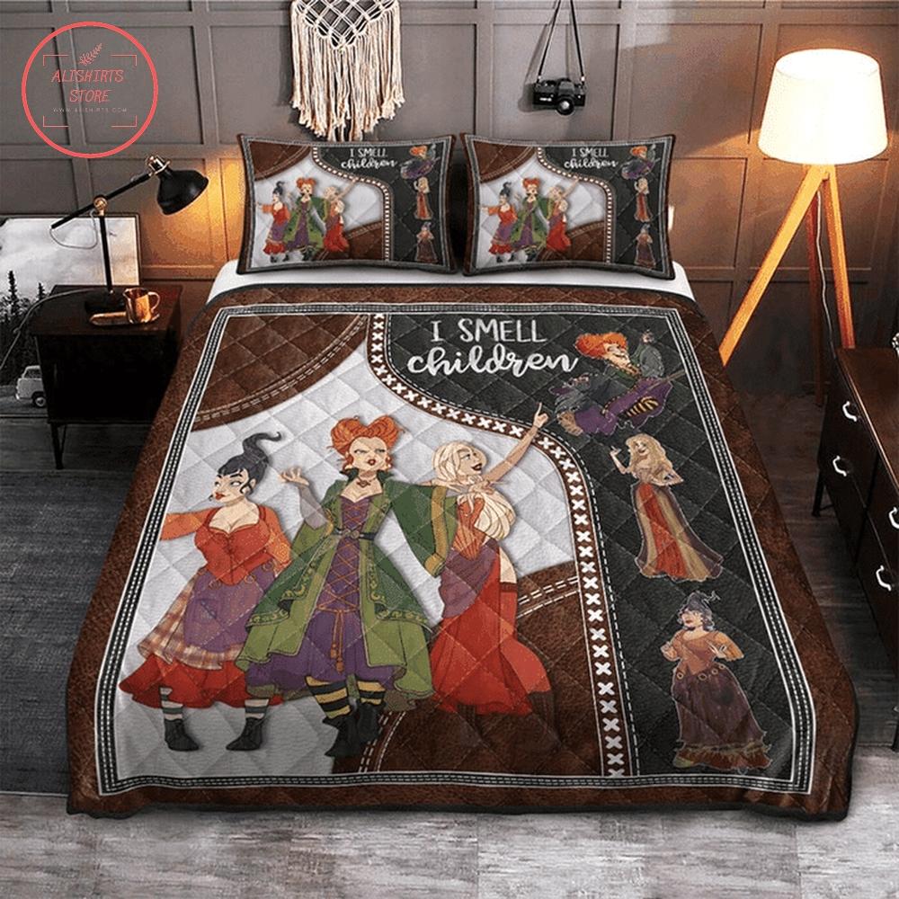 I smell children halloween bed set