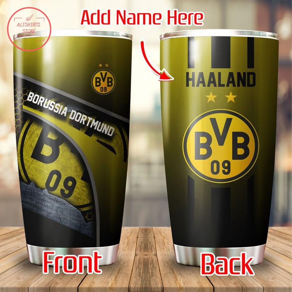 Borussia Dortmund Personalized Tumbler