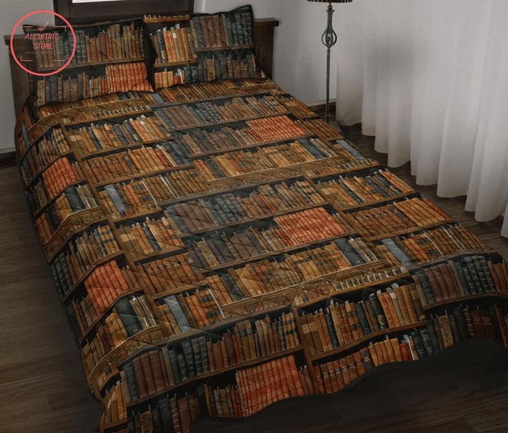 Bookshelf bed set