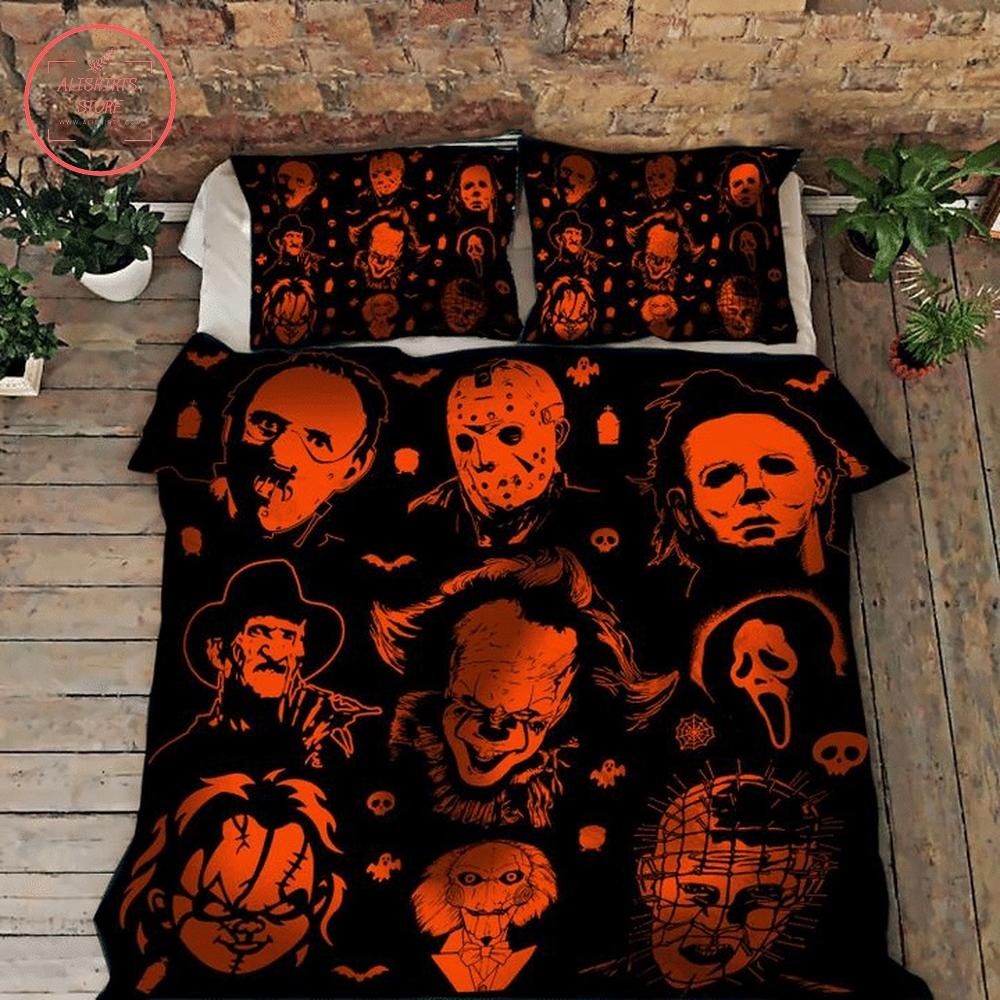 Halloween horror bad guy bed set