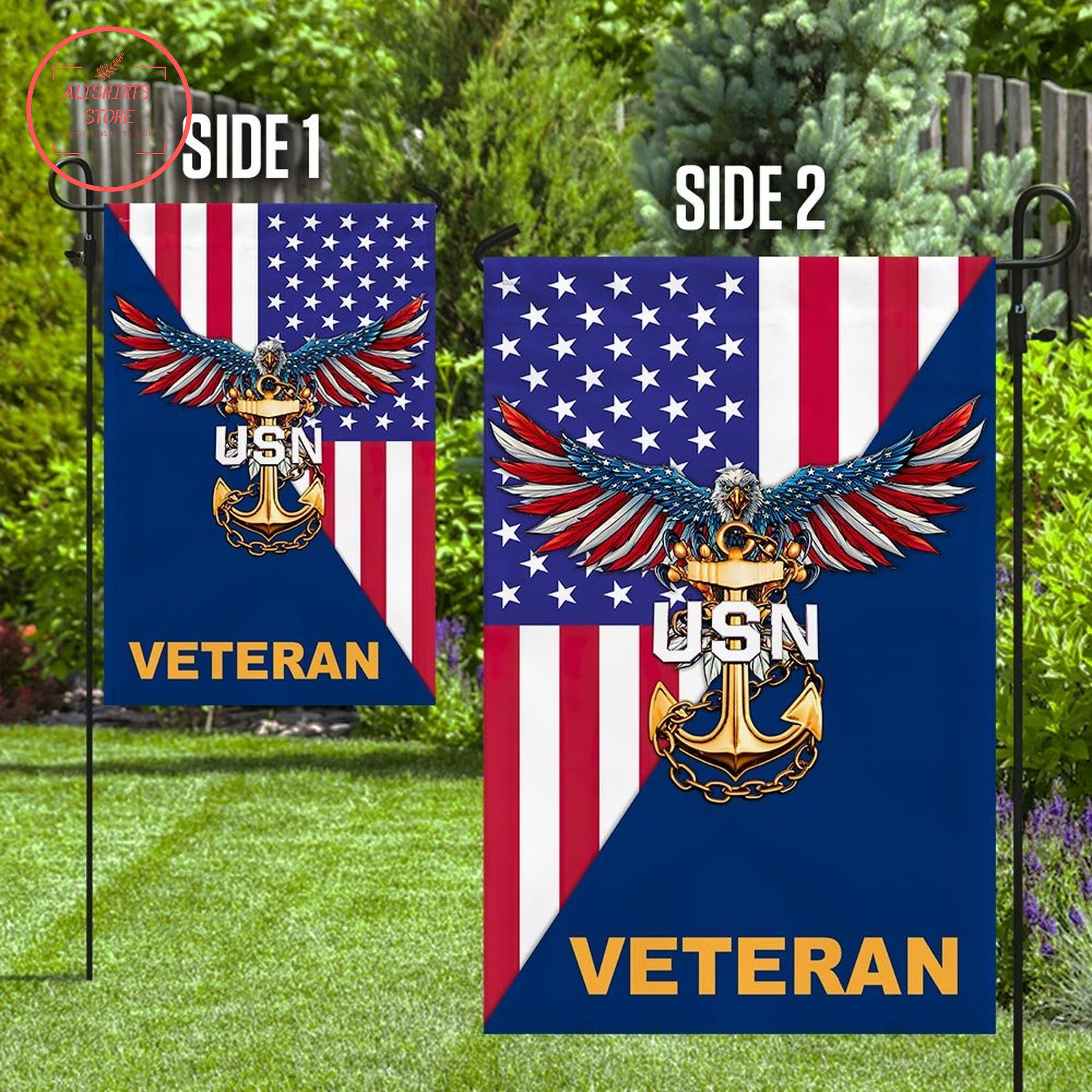US Army veteran flag