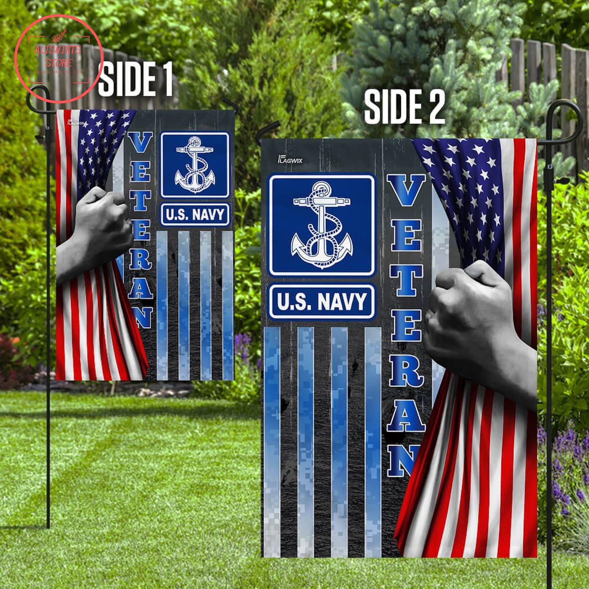 Navy Veteran flag