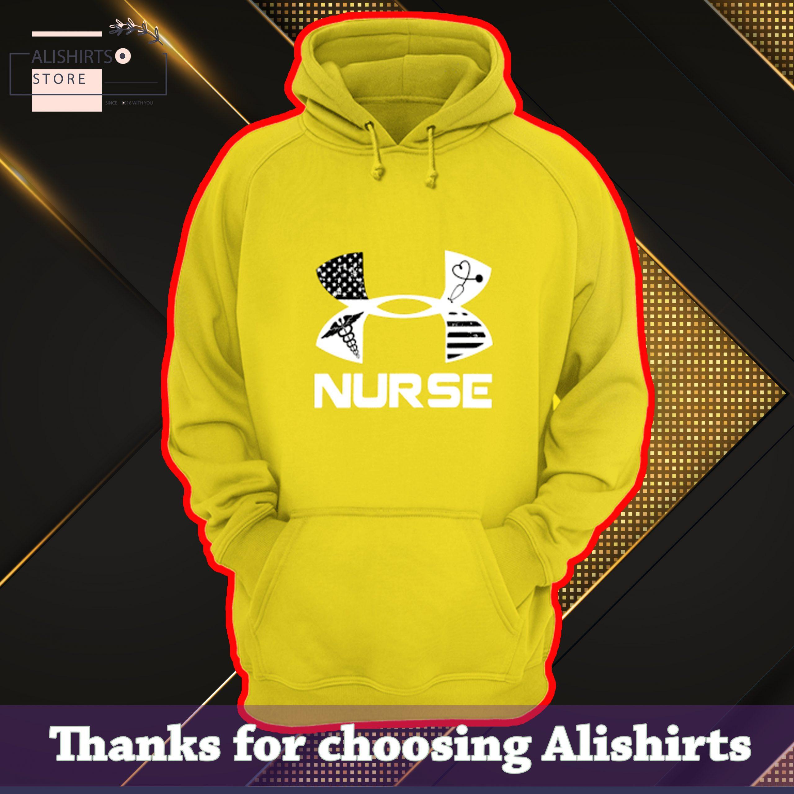 Nurse American Under Armour Shirt, Hoodie, Tank Top