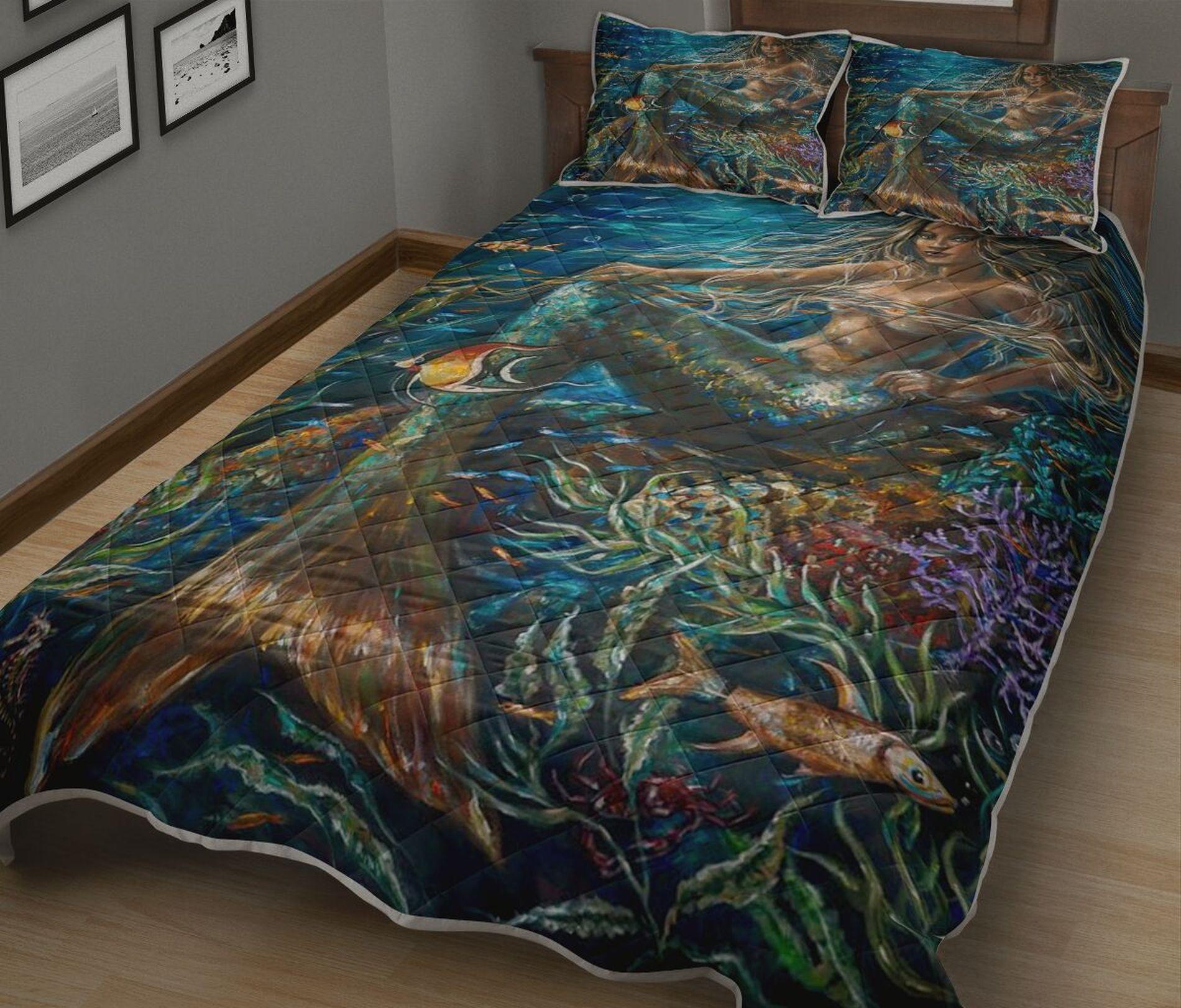 mermaid bed set