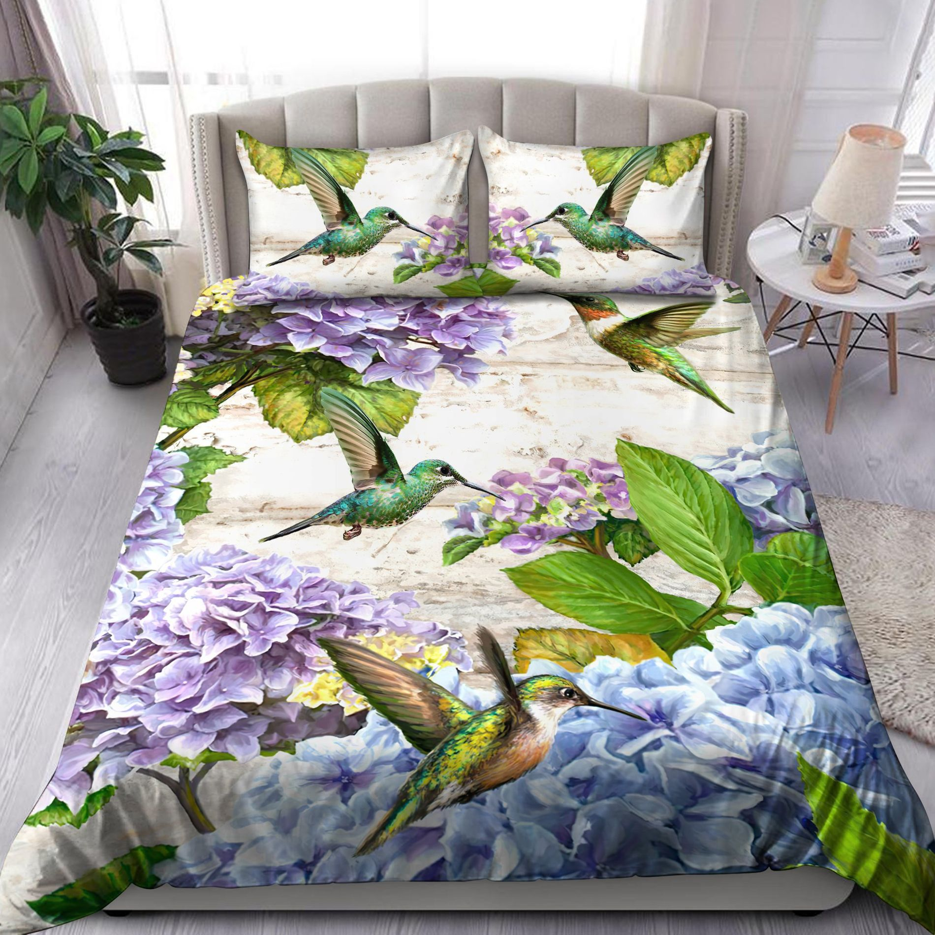 Flower & bird bedding sets with full range of size