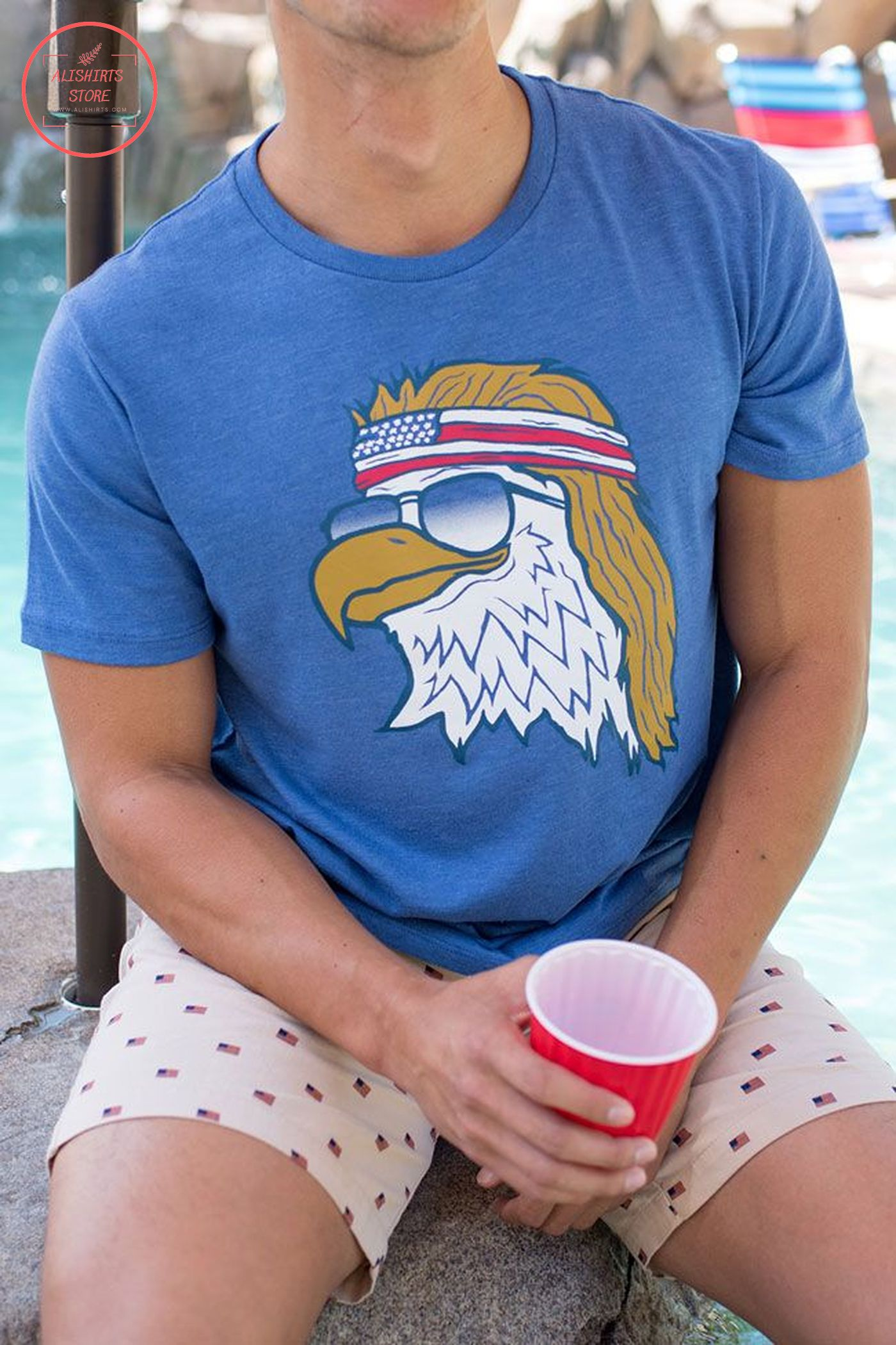 4th of July cool eagle shirts