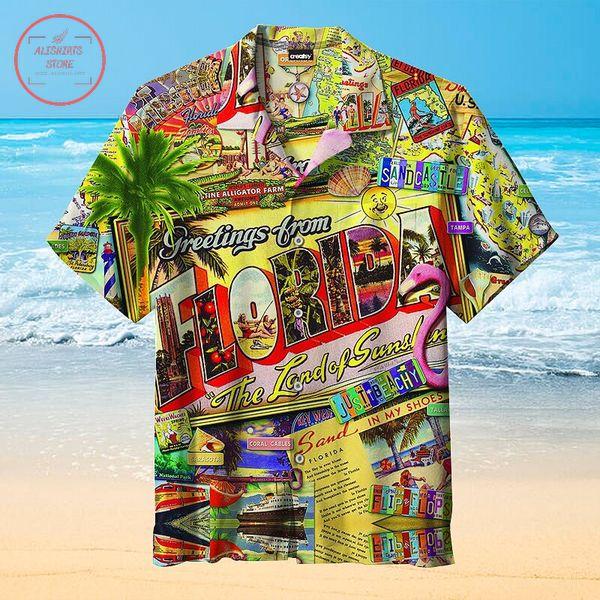 Greetings from Florida Hawaiian shirts