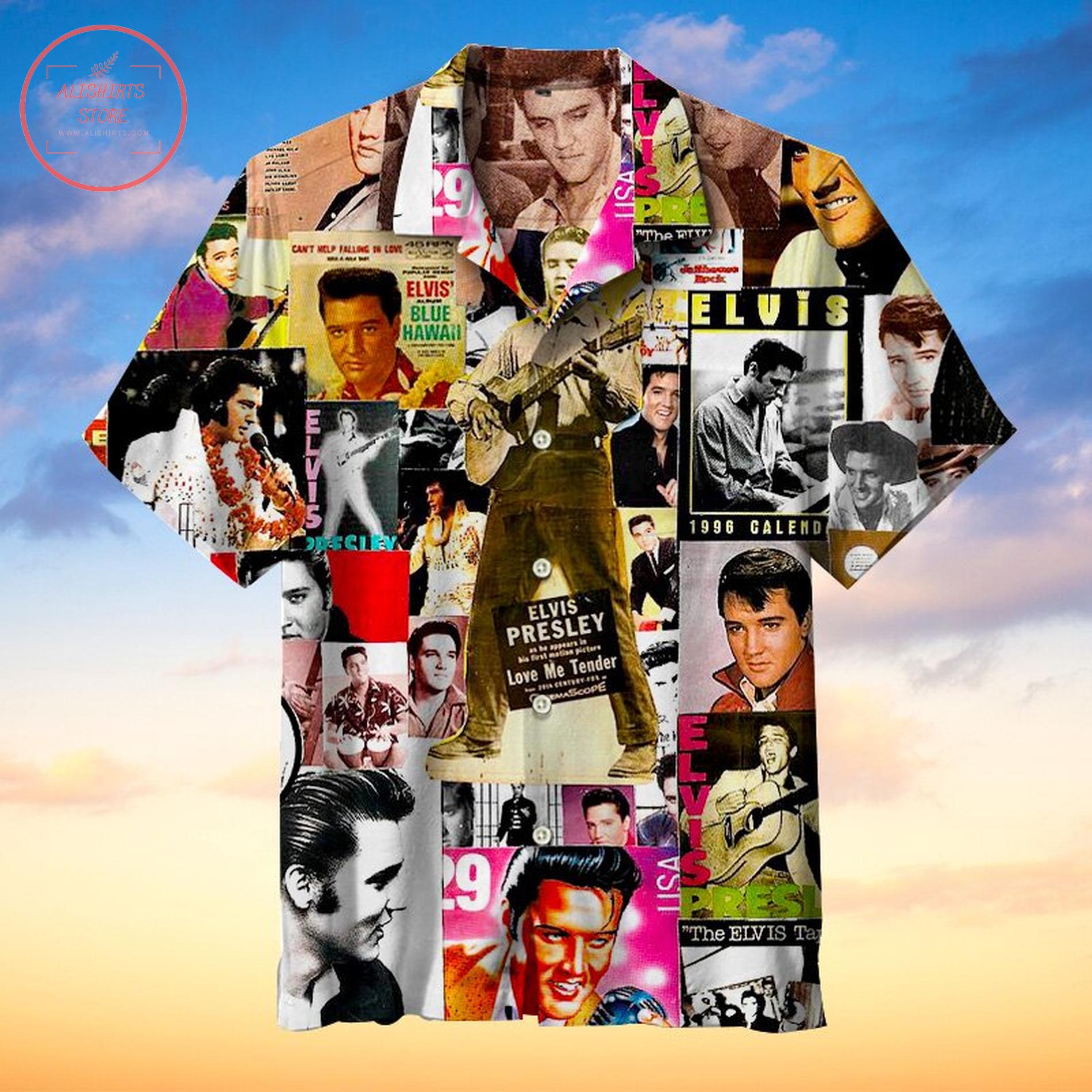 Elvis Presley album cover Hawaiian Shirts
