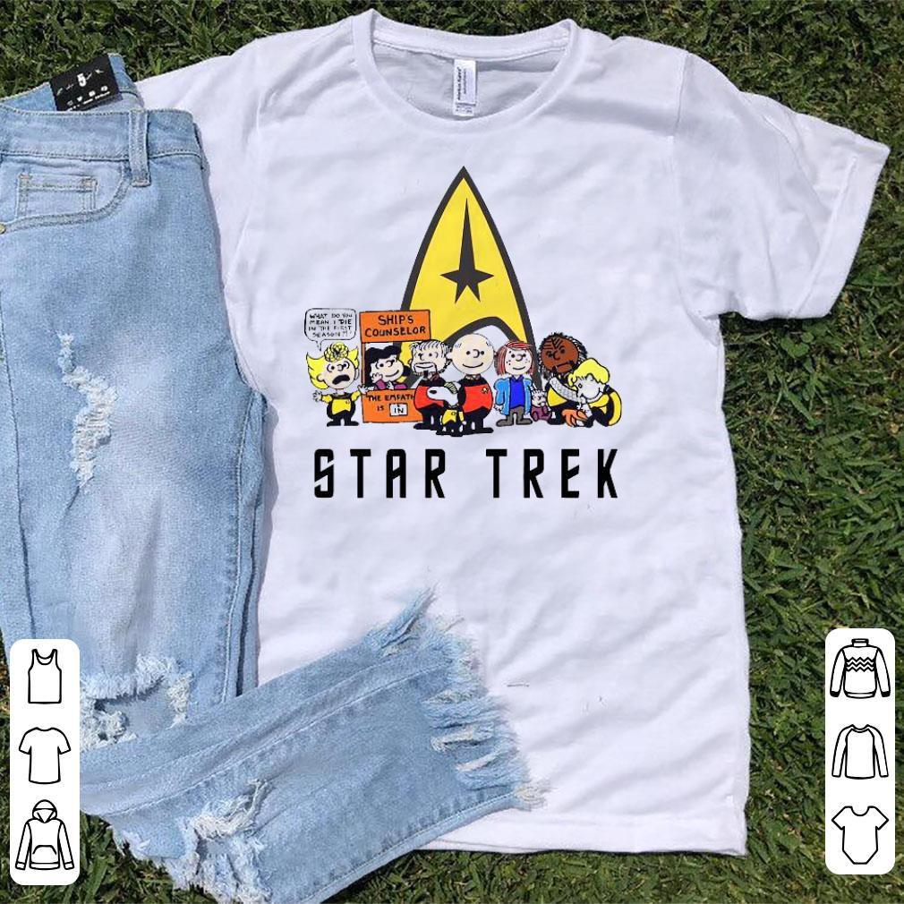 Snoopy and Friends Star Trek Funny Shirt