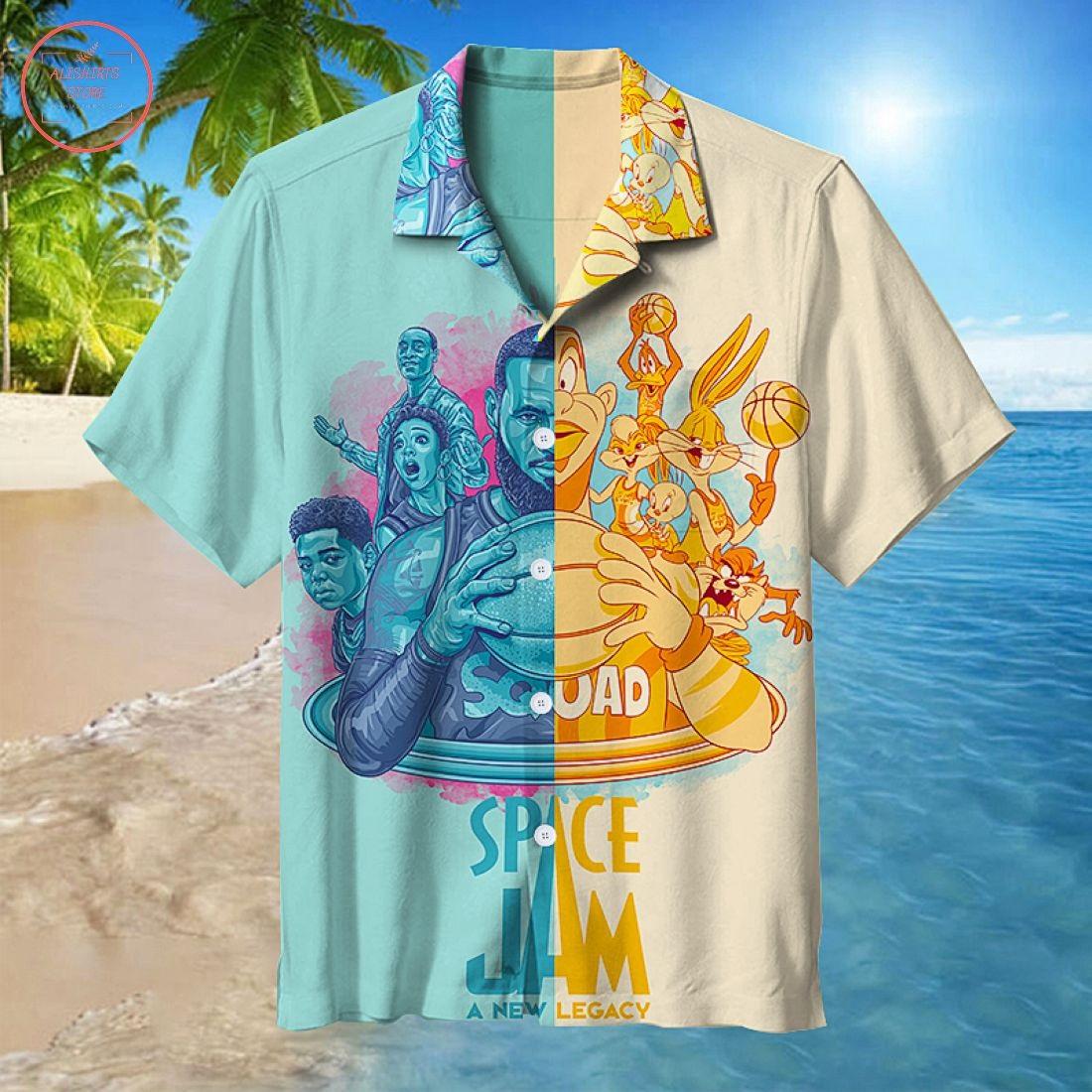 Air Slam Dunk Hawaiian Shirt