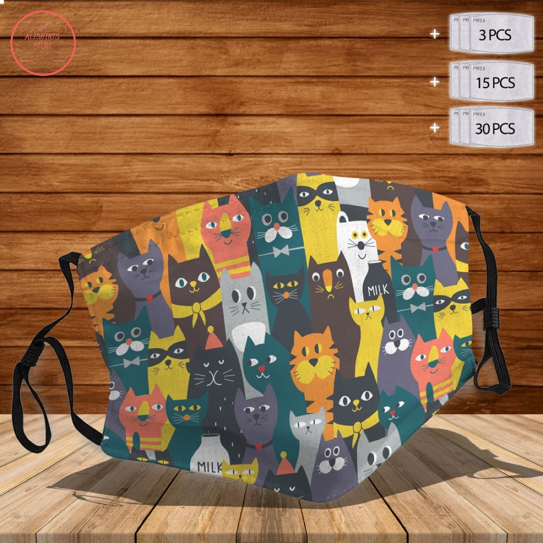 All Cute Cats Face Mask