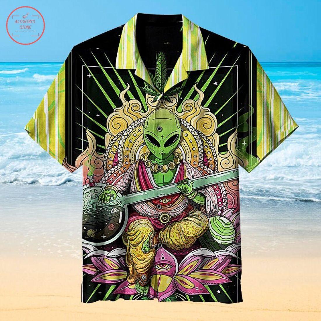 Amazing Alien Hawaiian Shirt