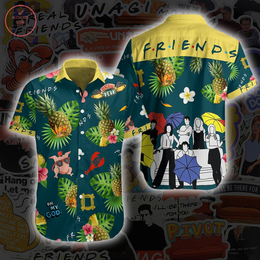 Amazing Friends Movie Hawaiian Shirt