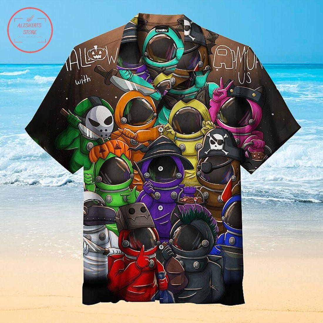 Among us Hawaiian Shirt