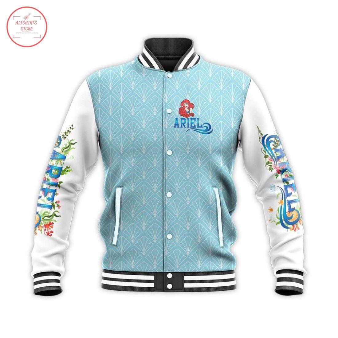 Ariel Disney Princess Letterman Jacket