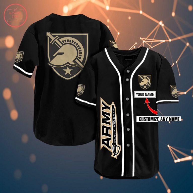 Army Black Knights Personalized Baseball Jersey
