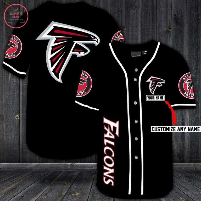 Atlanta Falcons Personalized Baseball Jersey