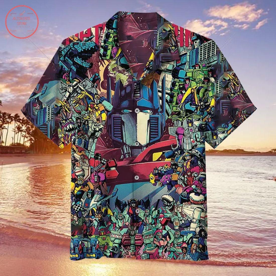 Autobot Collection Hawaiian Shirt