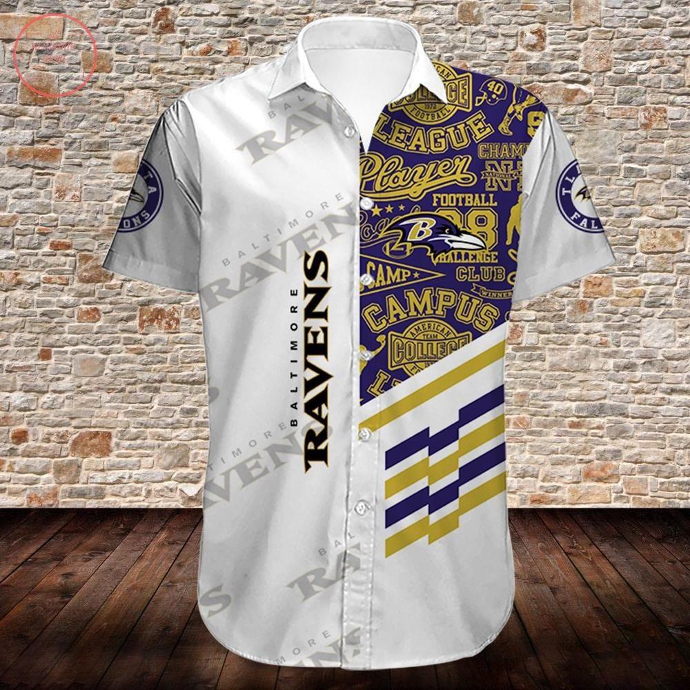 Baltimore Ravens Limited Edition Hawaiian Shirt