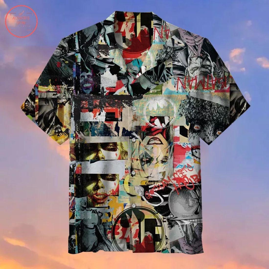 Batman ft Joker Hawaiian shirt