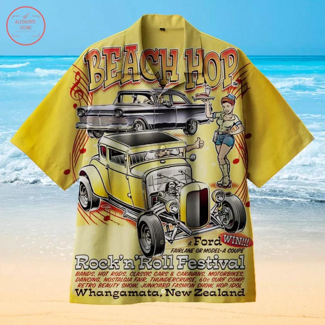 Beach Rock Festival Hawaiian Shirts