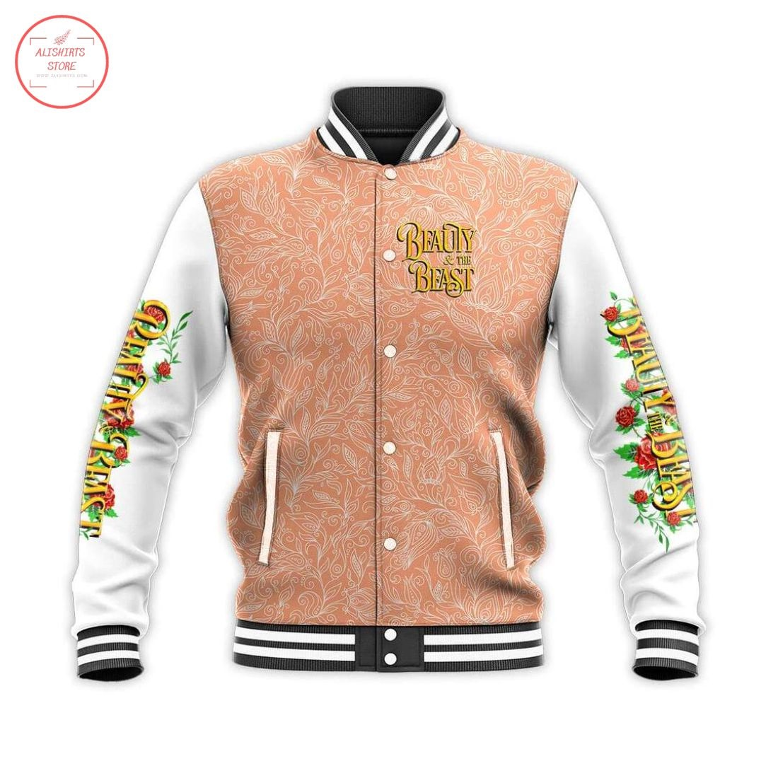 Beauty and The Beast Letterman Jacket