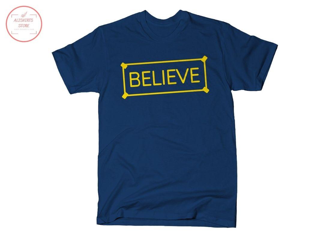 Believe Sign Basic Shirts
