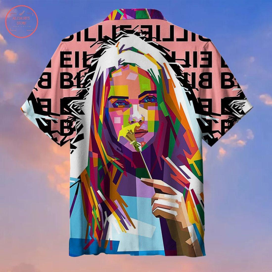 Billie Eilish Hawaiian Shirt