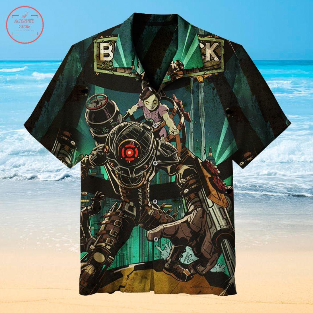 Bioshock Infinite Hawaiian shirt