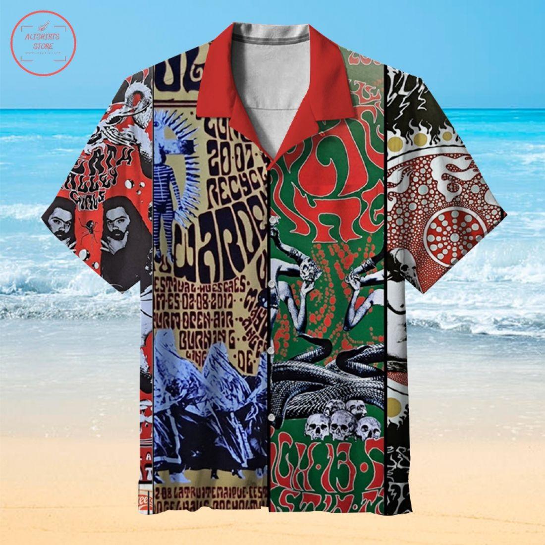 Black Angel Hawaiian Shirt