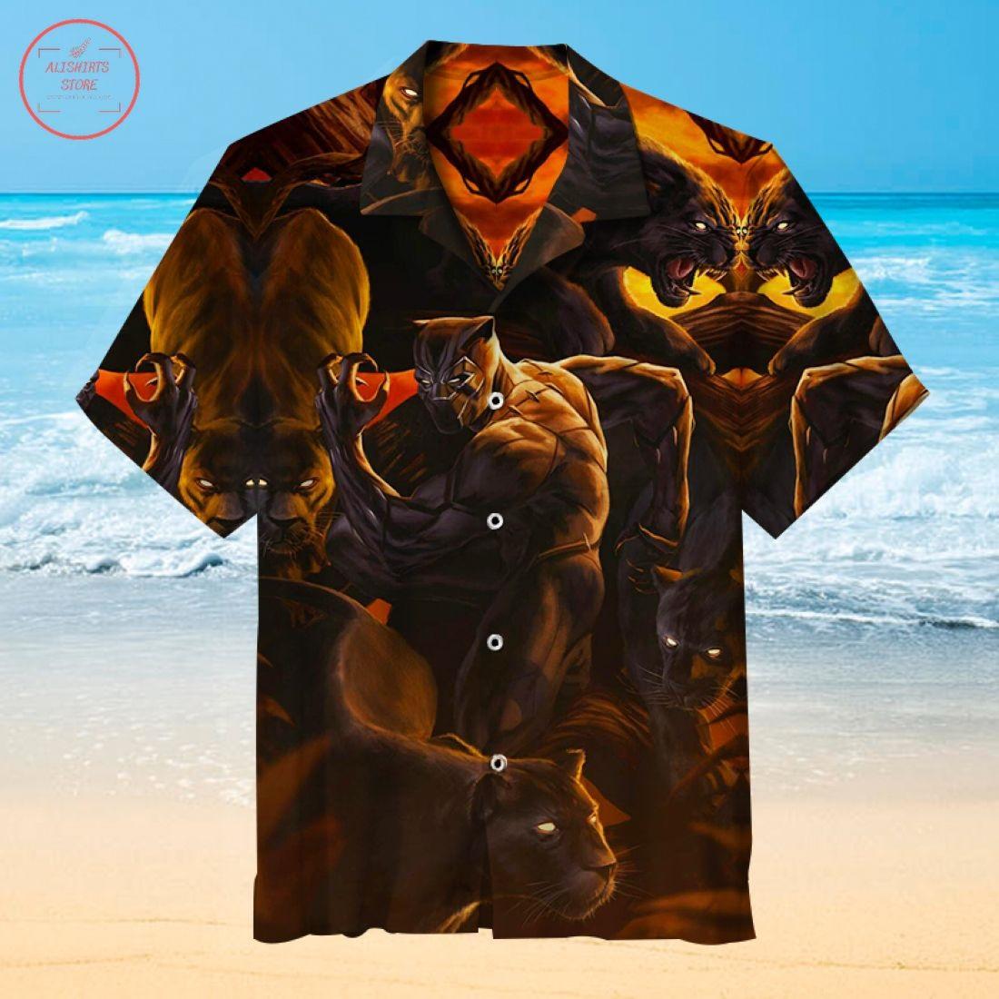 Black Panther Hawaiian Shirt