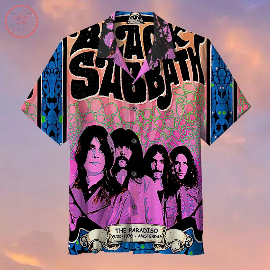 Black Sabbath Hawaiian Shirt