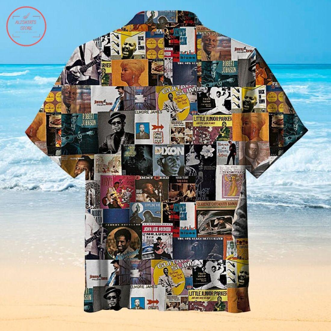 Blues Music Hawaiian Shirt