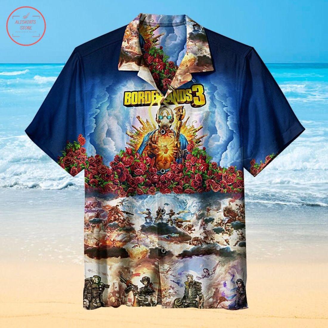 Borderlands3 Hawaiian Shirt