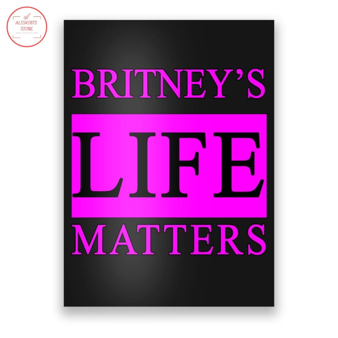 Britney's Life Matters BLM Free Britney Canvas